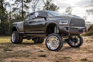 2015 Ram RAM 3500 Dual Rear Wheel with American Force Stars SD