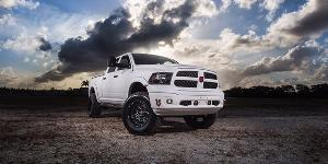 Dodge Ram 2500 with Tuff A.T. Wheels T-10