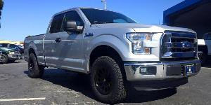 Ford F-150 with Fuel 1-Piece Wheels Vector - D579