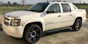 Chevrolet Avalanche 1500 with Vision Off Road 388 Shadow