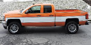 Chevrolet Silverado with Vision Wheel 55 Rally Aluminum