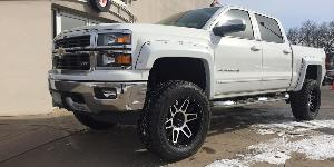 Chevrolet Silverado 1500 with Vision Off Road 388 Shadow