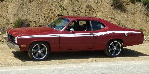 Plymouth Duster with Vision Wheel 142 Legend 5