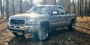 GMC Sierra 1500 with Vision Off Road 412 Rocker