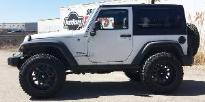 Jeep Wrangler with Vision HD Truck/Trailer 419 Split