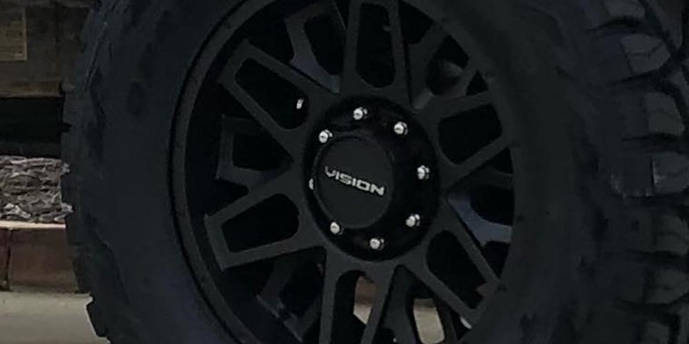 Chevrolet Silverado 2500 HD with Vision Off Road 388 Shadow