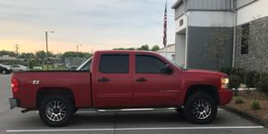 Chevrolet Silverado 1500 with Vision Off Road 111 Nemesis
