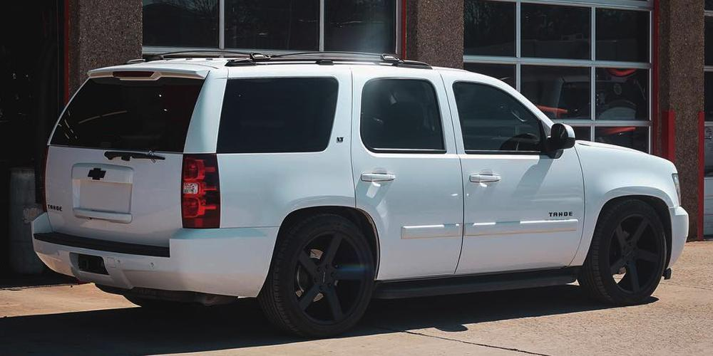 Chevrolet Tahoe with Milanni Wheels 472 Switchback