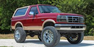 Ford Bronco with Vision Off Road 361 Spyder