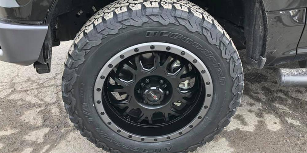 Ford F-150 with Vision Off Road GV8 Invader