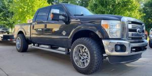 Ford F-250 Super Duty with Vision Off Road 361 Spyder