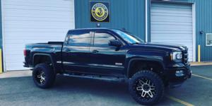 GMC Sierra 1500 HD with Vision Off Road 388 Shadow