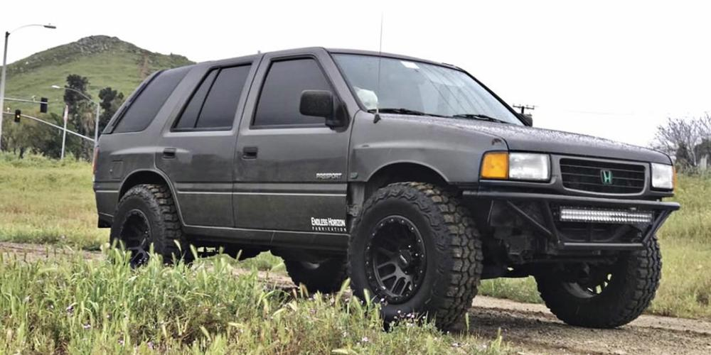 Honda Passport with Vision Off Road 111 Nemesis