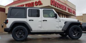 Jeep Wrangler with Vision Off Road 390 Empire