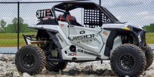Polaris RZR 1000 Turbo with Vision ATV 356BL Manx 2 Beadlock
