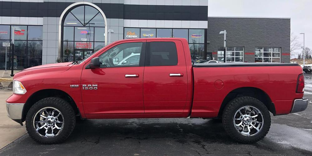 Ram 1500 with Vision Off Road 415 Bomb