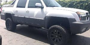 Chevrolet Avalanche 1500 with Black Rhino Warlord
