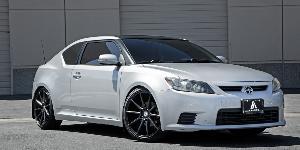 Toyota Scion TC with Asanti Black Label ABL-20 Aries