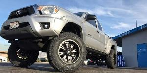 Toyota Tacoma with Fuel 1-Piece Wheels Throttle - D513