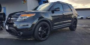 Ford Explorer with KMC Wheels KM685 District