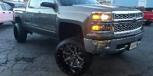 Chevrolet Silverado 1500 with Fuel 2-Piece Wheels Maverick - D260