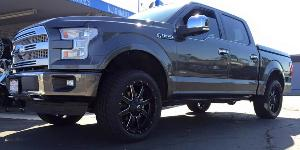 Ford F-150 with Fuel 1-Piece Wheels Maverick - D538