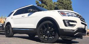 Ford Explorer with Lexani Wheels Gravity