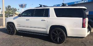 GMC Yukon with DUB 1-Piece Push - S109