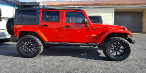 Jeep Wrangler with SOTA Offroad A.W.O.L.