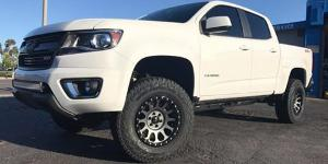 Chevrolet Colorado with Method Race Wheels MR305 - NV