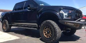 Ford F-150 Raptor with Method Race Wheels MR305 - NV