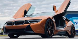 BMW i8 with Asanti Black Label ABL-13 Vega