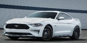 Ford Mustang with Asanti Black Label ABL-14