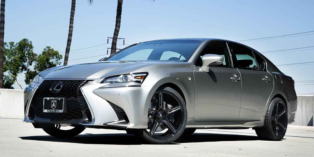 Lexus GS350 with Asanti Black Label ABL-22 Alpha 5