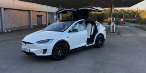 Tesla X with Asanti Black Label ABL-20 Aries