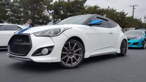 Hyundai Veloster with Focal 452 F-52