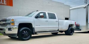 Chevrolet Silverado 3500 HD with Vision HD Truck/Trailer 181 Hauler Duallie