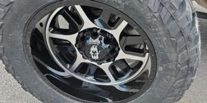 Chevrolet Silverado 2500 HD with Vision Off Road 419 Split