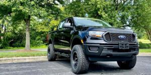 Ford Ranger with Vision Off Road GV8 Invader