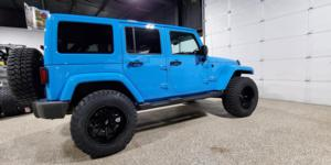 Jeep Wrangler JK with Vision Off Road 415 Bomb