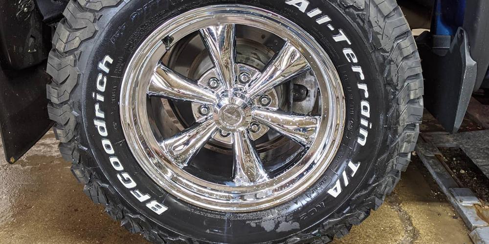 GMC Sierra 1500 with Vision Wheel 141 Legend 6