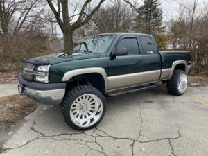 Chevrolet 1500 with American Force Super Single Series F107 Idol SF