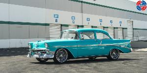 Chevrolet Bel Air with US Mags Bonneville - u309