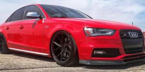 Audi S4 with Verde Wheels V99 Axis