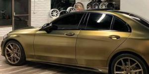 Mercedes-Benz E350 with Verde Wheels V99 Axis