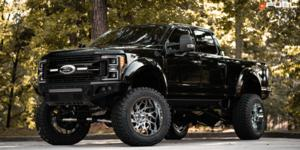 Ford F-250 Super Duty with Fuel 1-Piece Wheels Runner - D740