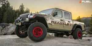 Jeep Gladiator with Fuel 1-Piece Wheels Warp Beadlock - D117