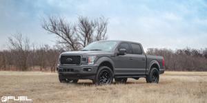 Ford F-150 with Fuel 1-Piece Wheels Ammo - D700