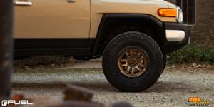 Toyota FJ Cruiser with Fuel 1-Piece Wheels Ammo - D702