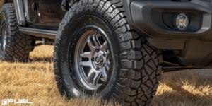 Jeep Wrangler with Fuel 1-Piece Wheels Ammo - D701